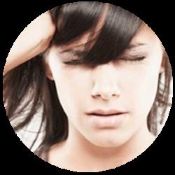 Disfunções na articulação temporomandibular. O tratamento combate estalos, dores de cabeça, dores musculares e dores na mastigação.